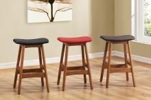 COUNTER HEIGHT STOOL, DARK BROWN/1188DB-24