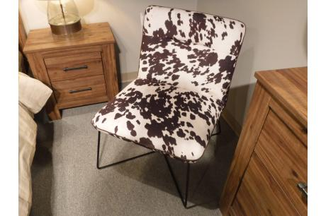 ACCENT CHAIR, COWHIDE/1119F1S