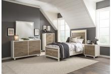 (3) Twin Bed with LED Headboard/2056T-1*