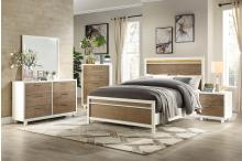 (3) Queen Bed with LED Headboard/2056-1*